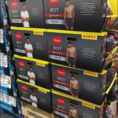 Hanes Best Pallet Merchandising