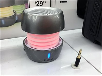 iHome Portable Speaker Try-Me In-Store