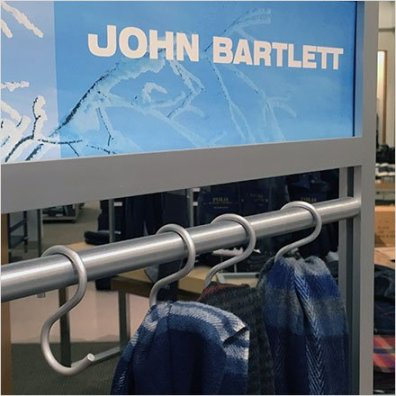 John Bartlett Aluminum S-Hooks For Scarves
