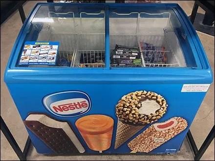 Nestle-Branded Coffin Case Cooler