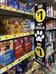 Paw-Signed Pet Deals At Dllar General 1