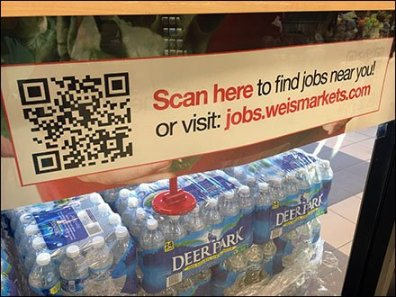 QR Scan Here for Jobs 1