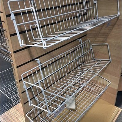 Slatwall Shelf and Basket Standoffs 2