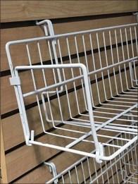 Slatwall Shelf and Basket Standoffs 3