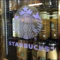 Starbucks Branded Overhead Cooler 2