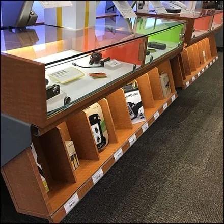 Under Cabinet Display Bins Main