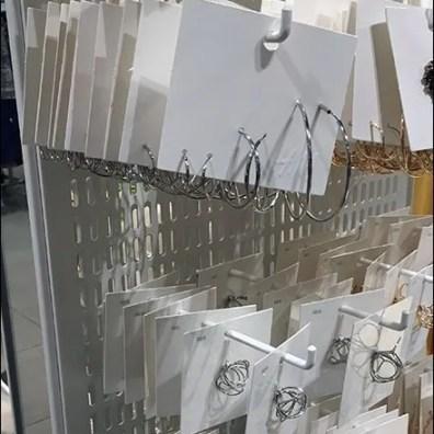 Vertical Slot Pegboard Display 2