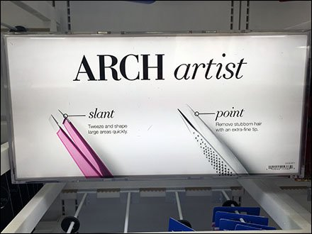 Arch Artist Cosmetics Sign Front 1