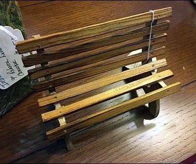 Bench Miniature Furniture 1