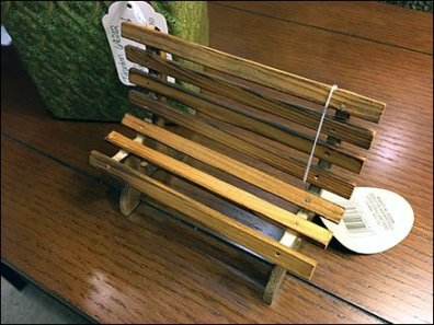 Bench Miniature Furniture 3