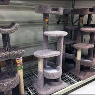 Cat Condo Pallet Rack Merchandising
