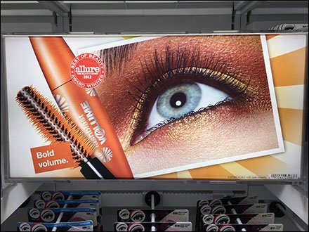 CoverGirl Embedding Signage With Hooks Front