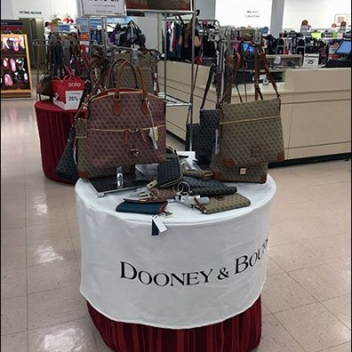 Dooney & Bourke Branded Table Cloth 1