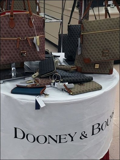 Dooney & Bourke Branded Table Cloth 3