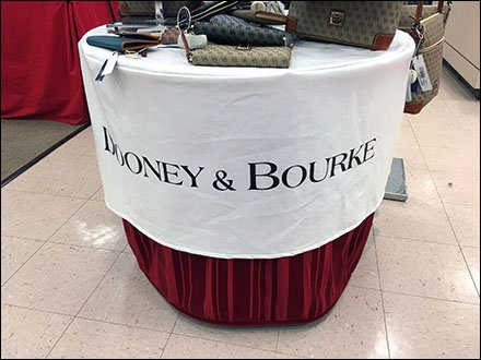 Dooney & Bourke Branded Table Cloth Main