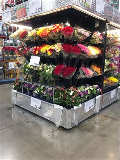 Floral Display Metro Shelf Aftermarket 1