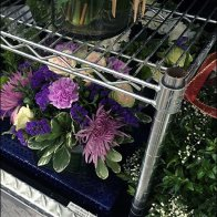 Super-Erecta-Shelf Floral Dunnage Rack