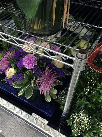 Floral Display Metro Shelf Aftermarket 3