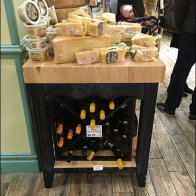 Gourmanoff Wine and Cheese Merchandising Island 2