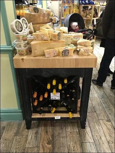 Gourmanoff Wine and Cheese Merchandising Island 2