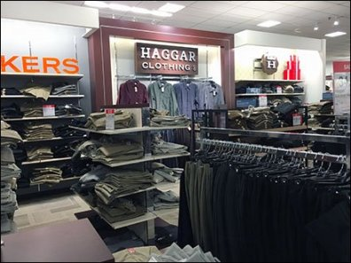 Haggar Clothing Deptmental Branding 1