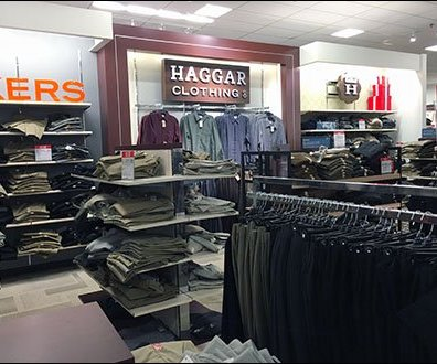 Haggar Clothing Deptmental Branding 1