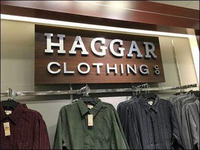 Haggar Clothing Deptmental Branding 3