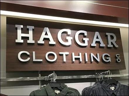 Haggar Clothing Deptmental Branding Main
