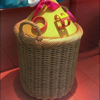 Hermes Color Sands Wicker Baskets 1