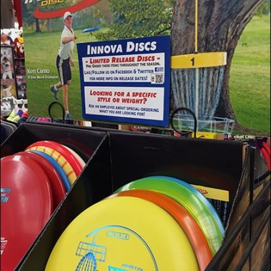 Innova Disc Golf Frisbee Display 6