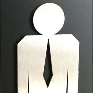 Karcher Design Men's Restroom Icon Feature
