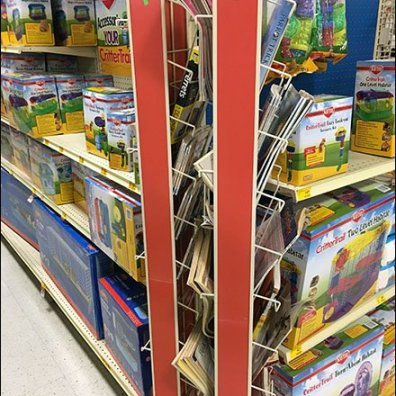 Literature Swing Away PowerWing Rack 6