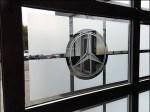 Mercedes Back Door Branding 4 Closeup