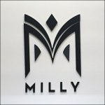 Milly Decorative Department Branding CloseUp Detail