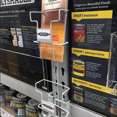 Minwax Multi-Station Literature Rack