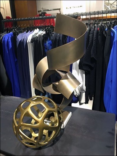 Neiman Marcus Sculpture In-Store 1