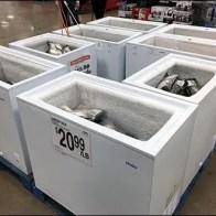 Pallate Coffin Case Lobster Sale Aux