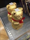 Perforated Slatwall Shelf Sells Chocolates Teddy Bears