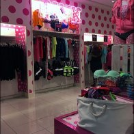 Pink Neon Signage In-Store