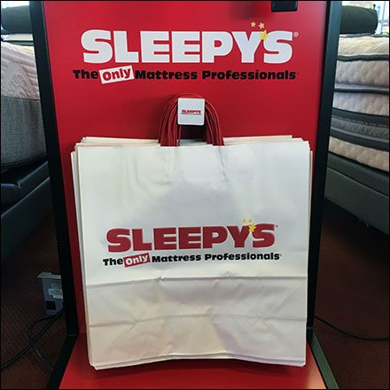 Sleepys Branded Bag Dispenser Main