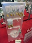 Plastic Slide-On Rail Hook for Jewelry Aux