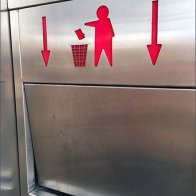 Trash Goes Down Receptical Directive 3