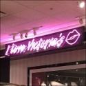 Victoria's Secret Neon In-Store Sign