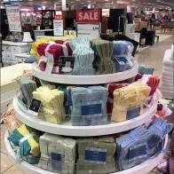 Ribboned Wash Cloth Display Carousel