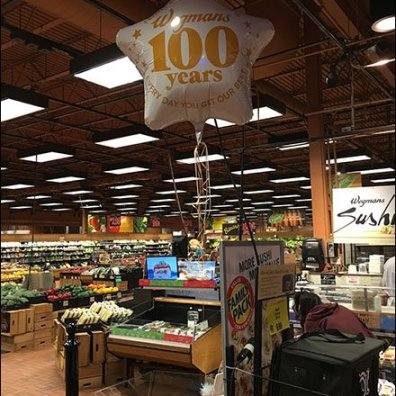 Wegmans 100th Anniversay Inflatable 1