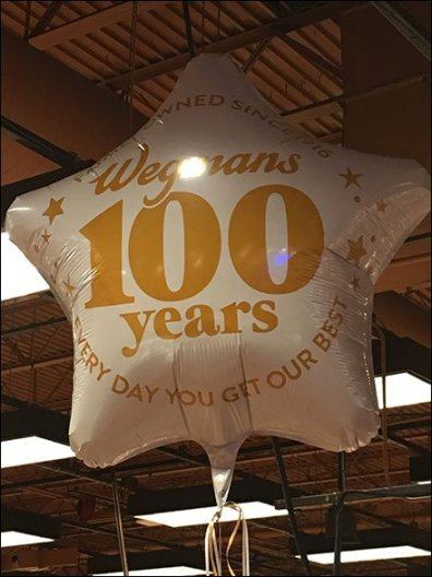 Wegmans 100th Anniversay Inflatable 3