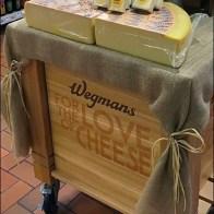 Wegmans Love-Of-Cheese Castered Island