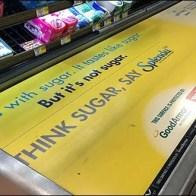 Weis Cashwrap Conveyor Advertising 2