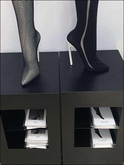 Wolford Segregated Hose Literature Holders 3
