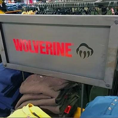 Wolverine Metal Plate Branded Sign 3